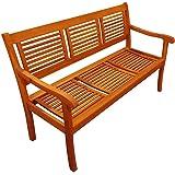 SAM Gartenbank Cordoba, 150 cm, 3-Sitzer Bank, Akazienholz geölt, FSC Zertifiziert