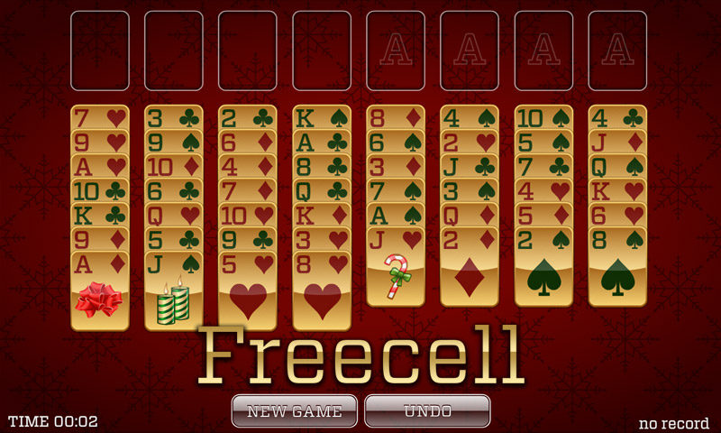 Christmas Solitaire Freecell.Christmas Solitaire Spider Solitaire Classic Solitaire Freecell And More