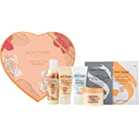 Sanctuary Spa Gift Set, Lost In The Moment Gift Box With Face Mask, Hand Cream, Foot Cream, Salt Scrub, Body Butter and…