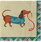 Ulster Weavers Hound Dog Paper Napkins, 20-Pack