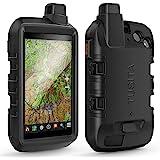 TUSITA Hoesje Compatibel met Garmin Montana 700i 750i - Siliconen Bescherming Hoes Beschermhoes Huid - Handheld GPS Navigator