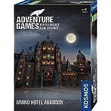 KOSMOS 693190 Adventure Games – Grand Hotel Abaddon. Upptäck Story, samarbetsspel för 1 till 4 spelare från 12 år, spännande