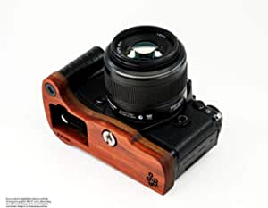 Wooden Camera Handle For Olympus Om D E M5 Mark Ii With Elektronik