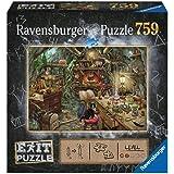Ravensburger- Hexenküche 759 Teile Exit Puzzle Puzle, Multicolor (19952)
