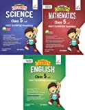 Olympiad Champs Science, Mathematics, English Class 5 with Past Questions 4th Edition (set of 3 books)