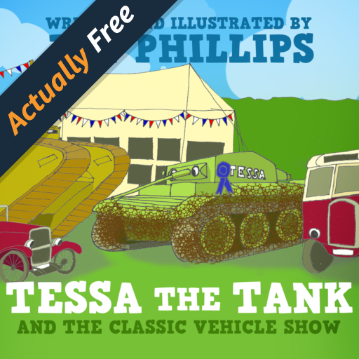 tessa-the-tank-and-the-classic-vehicle-show