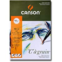 Canson C A Grain 8059 Drawing Paper 180g 10shts A4