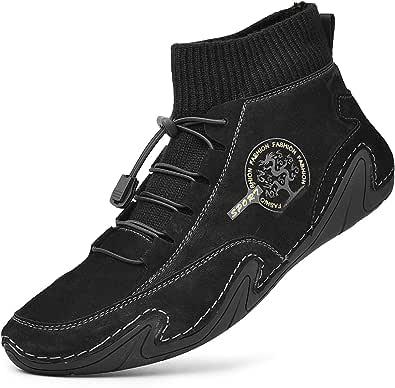 Scarpe Uomo Alte Sportive Scarpe Sneaker da Corsa Ginnastica Sneakers Invernali Stivali Uomo Trekking Caldo Stivali Pelliccia Outdoor Stivali