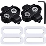 Hotop Bike Cleats Compatible with Shimano MTB SPD Pedals (SH51) for Men and Women Mountain Bike Shoes Bicycle Cleat Set for M