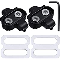 Hotop Bike Cleats Compatible with Shimano MTB SPD Pedals (SH51) for Men and Women Mountain Bike Shoes Bicycle Cleat Set…
