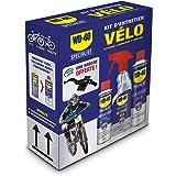 WD-40 BIKE • Kit Entretien Vélo • un Dégraissant • un Nettoyant Complet • un Lubrifiant Chaîne • une Brosse de Nettoyage Offe