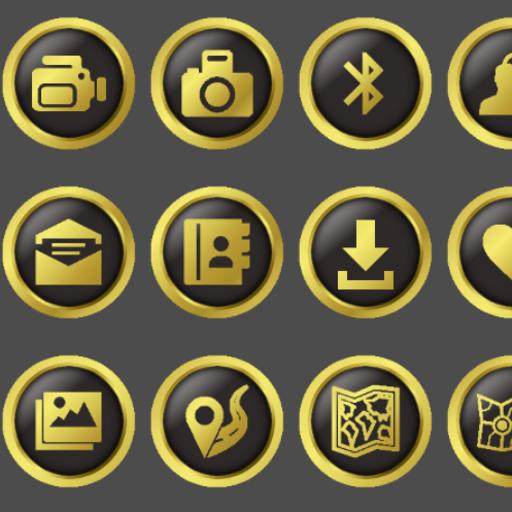 Apex/Nova/Holo/ADW Gold Icon Pack