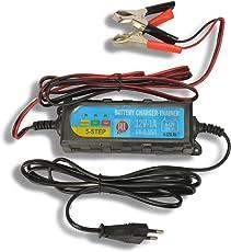 HSM Batterieladegerät Batteriewartungsgerät 6-12V Intelligentes Ladegerät Erhaltungsladegrät