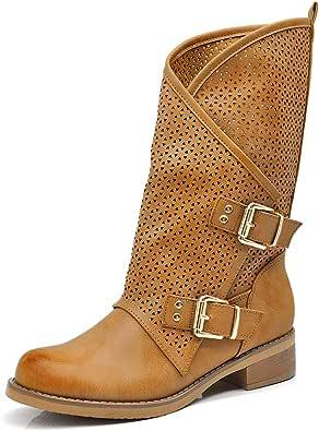 Amazon.it: Stivali Donna Estivi 34 Stivali Scarpe da