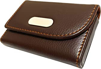 Card holders buy card cases online at best prices in india amazon sepal brown business id card holder credit card wallet name card case reheart Image collections