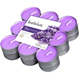 Bolsius Tealights Lavender 4hr Pack 18, Wax, Paars, One size
