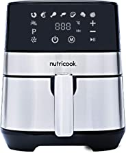 Nutricook Rapid Air Fryer by Nutribullet, 1500 Watts, Digital Control Panel Display, 8 Preset Programs with built-in Preheat