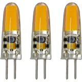 G4 mini LED 2 Watt 12V AC/DC warm wit siliconen (silica gel) lamp lamp lamp dimbaar halogeneret