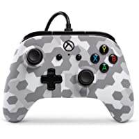 PowerA Wired Officially Licensed Controller for Xbox One, Xbox One S, Xbox One X & Windows 10  - Arctic Frost Camo