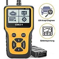 Beefix OBD2 Diagnosegerät,Auto OBD Adapter Scan Werkzeug,Automotor Fehler-Code Scanner für Europäische OBD II Protokolle…