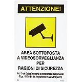 Schild 'Videobewaking'