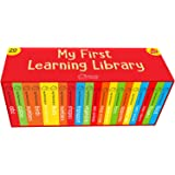 My First Complete Learning Library: Boxset of 20 Board Books Gift Set for Kids (Horizontal Design)