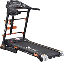 Powermax Fitness TDM-105M 2 HP (4 HP Peak) Motorized Treadmill - Free Installation Service - 3 Years Motor Warranty -...