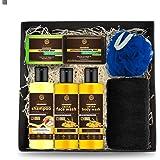 Khadi Vaidehi Bath & Skin Glow Gift Box For Women & Men l Ubtan Body Wash, Face Wash l Apple Cider Vinegar Shampoo l Charcoal