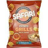SAFARI Potato Grills – Hot & Sweet, 125 gm