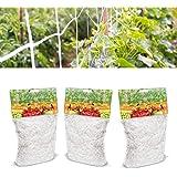 CHENKEE Malla para Plantas Trepadoras, 3 Paquetes Red de Jardín Malla de Apoyo para Escalada Red para Pájaros Resistente de P