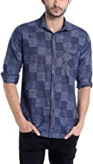 Campus Sutra Men's Cotton Casual Shirt