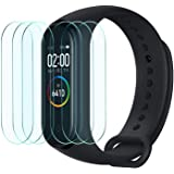 Widamin 6Pack, Screen Protector for Xiaomi Mi Smart Band 4/Mi Band 4, Soft Flexible TPU film 【Full Coverage】【Crystal…