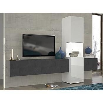Wunderbar TECNOS Wohnwand | Mediawand | Wohnzimmer Schrank | Fernseh Schrank | TV  Lowboard |