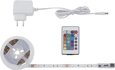 Briloner Leuchten 3m Band, Selbstklebend, 90xRGB Streifen, Lichtband, Licht-Leiste, Lichtschlauch, LED-Stripe, Plastik, 0.16 W, weiß, 300 x 1 x 0.3 cm