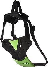 Pet Life HA9BKLG Road-To-Safety Dog Harness with Detachable Swivel Hook, Large, Black