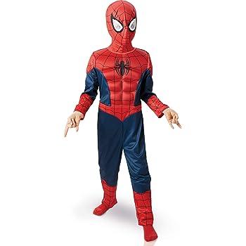 Rubie s-déguisement officiel - Marvel- Déguisement Pour Enfant Panoplie Luxe  3d Eva Spiderman Ultimate 0da44f1939bd