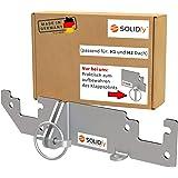 SOLIDfy® - Achterdeurvergrendeling H1/H2 dak inbraakbeveiliging achterdeur Prick Stop zekering voor Ducato, Jumper, Boxer X25