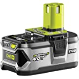 Ryobi Batterie Lithium+, 18 V, 4.0 Ah RB18L40 Multicolore