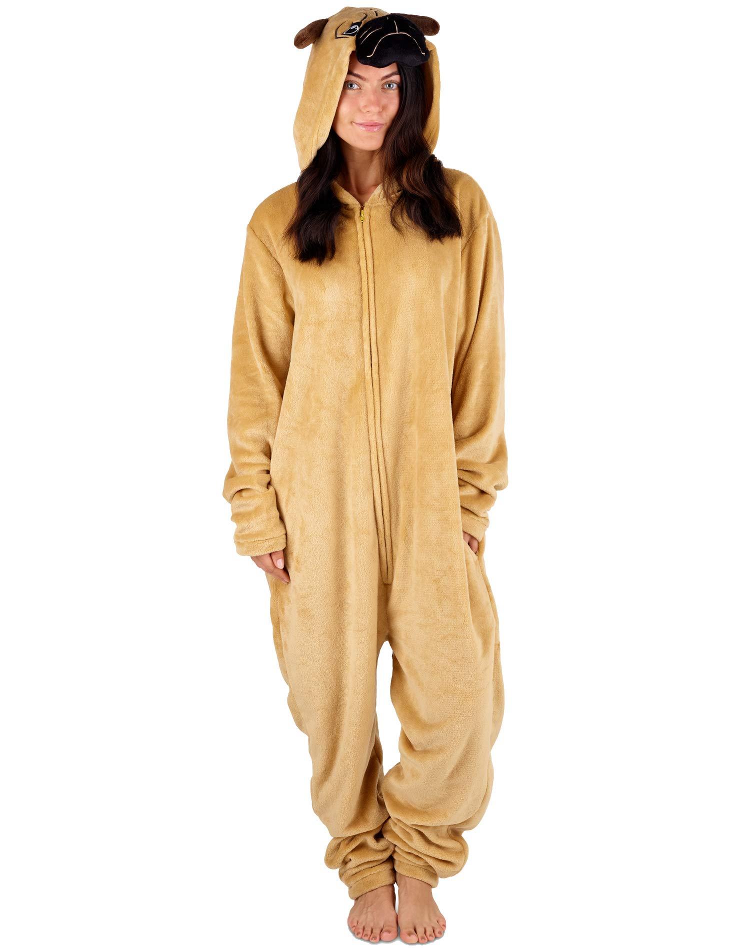vendita calda online faee8 f6e45 Pigiama Donna Intero Tuta Intera Pigiamone Unicorno Koala Coniglio Cane  Carlino Pinguino Dinosauro Gatto Pigiami Animali Cosplay Costume Animale -  ...