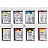 Wilton Set de 8 Colorantes Alimentarios en Pasta de 28g, 04-0-0030