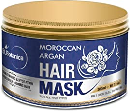 StBotanica Moroccan Argan Hair Mask - Deep Conditioning & Hydration for Healthier Looking Hair-300ml