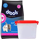 Drools Kitten(1-12 Months) Dry Cat Food, Ocean Fish, 1.2kg with Free Container