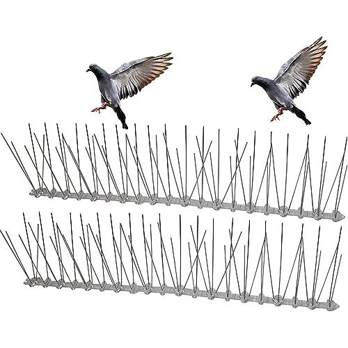 HelpAccess spaventapasseri/Spaventa Piccioni, Repellente Uccelli, Spaventapasseri Dissuasori Piccioni (5 Metri X Spuntoni)