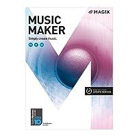 MAGIX Music Maker – 2017 Plus Edition – La création musicale à la portée de tous [Téléchargement]