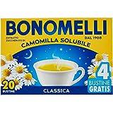 Bonomelli Camomilla Solubile Classica, Concentrato Estratto da Fiori Selezionati, Dona Momenti di Calma e Relax, Confezione d