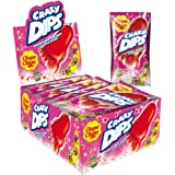 Chupa Chups - Crazy Dip Aardbei - 24 Stuks