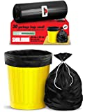 Shalimar Premium OXO - Biodegradable Garbage Bags (Small) Size 43 cm x 51 cm 6 Rolls (180 Bags) ( Dustbin Bag / Trash…