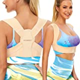 Vicorrect Posture Corrector for Women and Men, Adjustable upper back straightener posture corrector and Providing Pain Relief