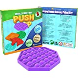 Desire Deluxe Push it Fidget Pop Toys Pack for Kids - Sensory Anxiety Stress Relief Push It Autism Toy for Girls & Boys - Gif