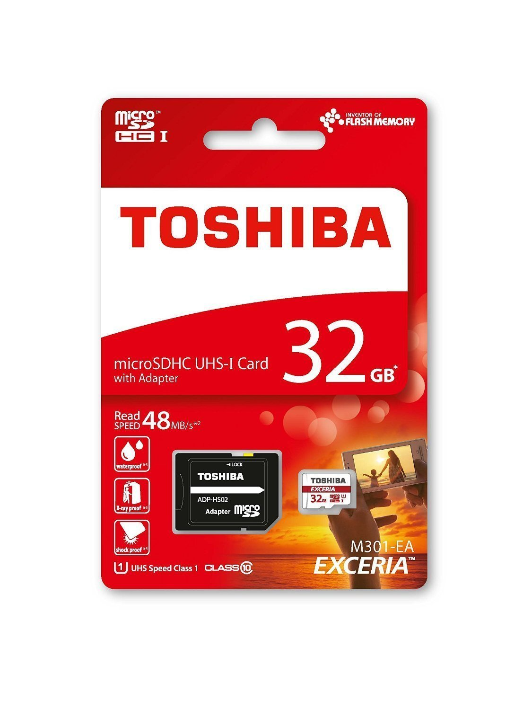 Toshiba, tarjetas de memoria